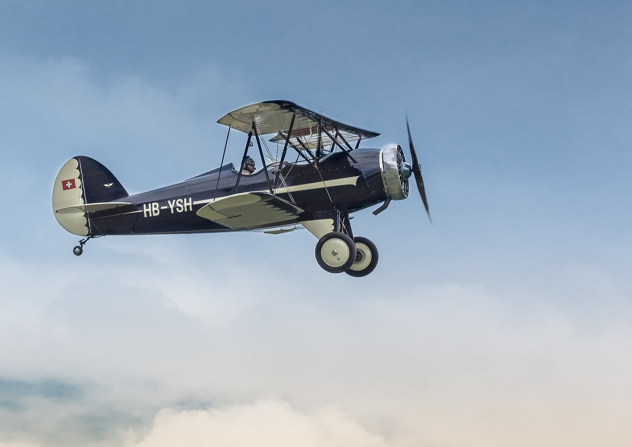 aircraft, plane, hatz cb-1