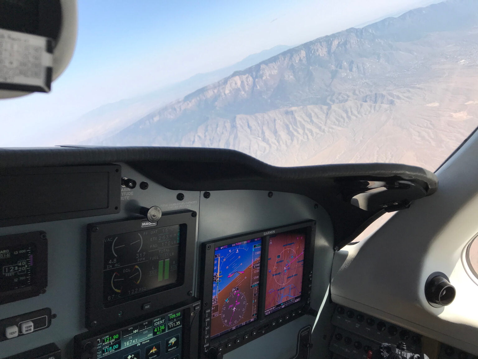 G500 Avionics with a view